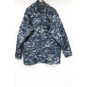 Valley Apparel men M goretex us navy working parka